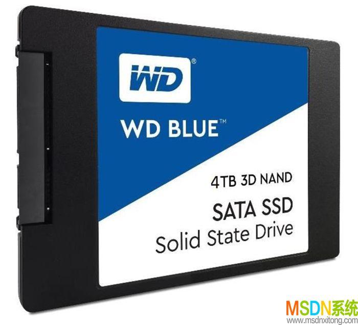 西数蓝盘或将发布4TB SSD,打破4TB消费级SSD仅三星的局面
